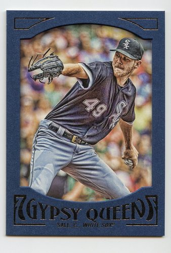 Photo of 2016 Topps Gypsy Queen Framed Blue #25 Chris Sale