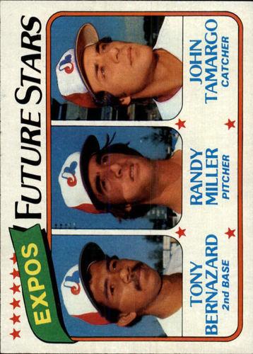 Photo of 1980 Topps #680 Tony Bernazard RC/Randy Miller RC/John Tamargo