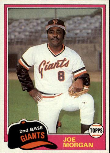 Photo of 1981 Topps Traded #807 Joe Morgan