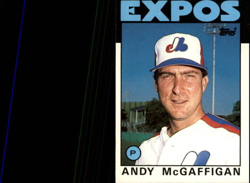 Photo of 1986 Topps Traded #72T Andy McGaffigan