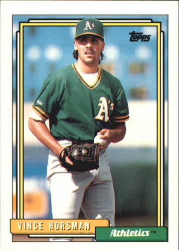 Photo of 1992 Topps Traded #53T Vince Horsman