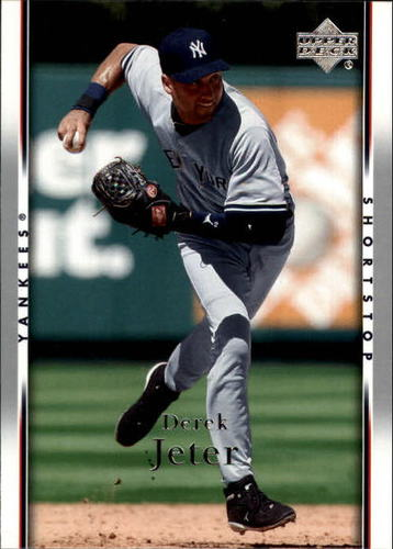 Photo of 2007 Upper Deck #163 Derek Jeter