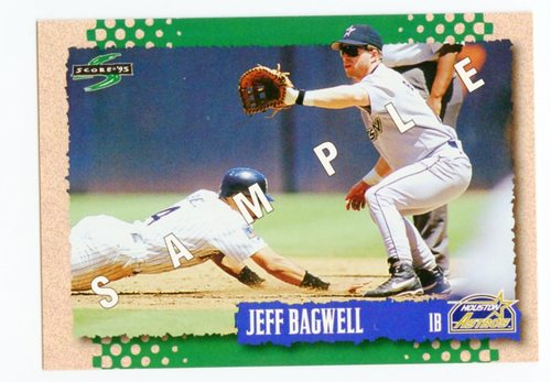 Photo of 1995 Score Samples #221 Jeff Bagwell