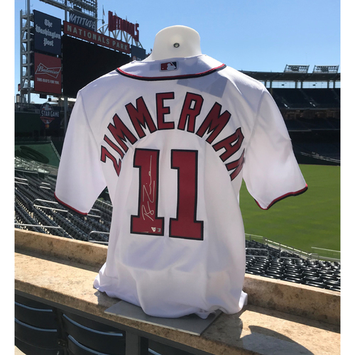 Photo of Ryan Zimmerman Autographed 2019 World Series Champions Replica Jersey