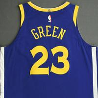 Draymond Green - Golden State Warriors - NBA China Games - Game-Worn Icon Edition Jersey - 2017-18 NBA Season