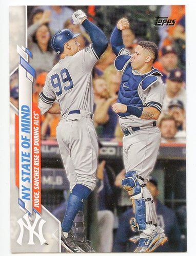 Photo of 2020 Topps #591 NY State of Mind/Aaron Judge/Gary Sanchez
