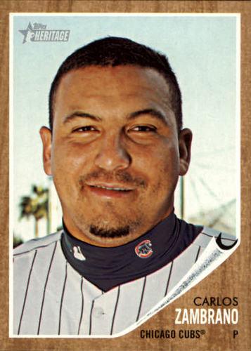Photo of 2011 Topps Heritage #359 Carlos Zambrano