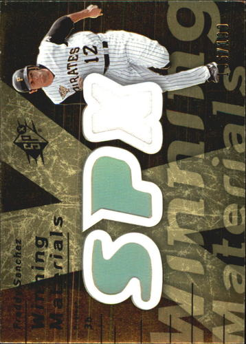 Photo of 2007 SPx Winning Materials 199 Gold #FS Freddy Sanchez/199