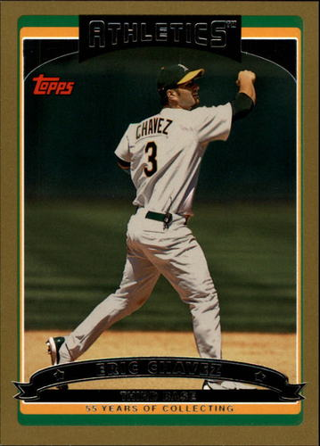 Photo of 2006 Topps Gold #340 Eric Chavez