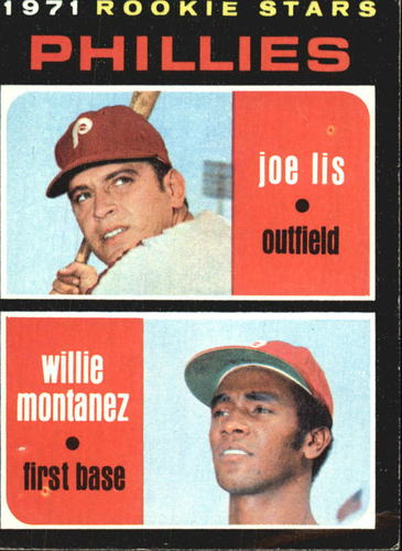 Photo of 1971 Topps #138 Rookie Stars/Joe Lis/Willie Montanez RC