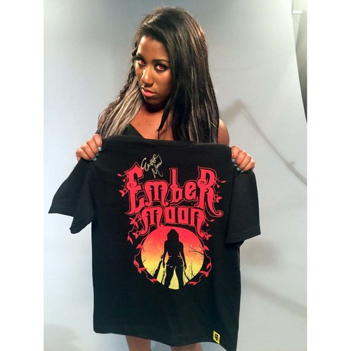 Ember Moon SIGNED