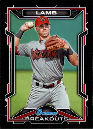 Photo of 2013 Bowman Draft Scout Breakouts #JL Jake Lamb -- D'backs post-season