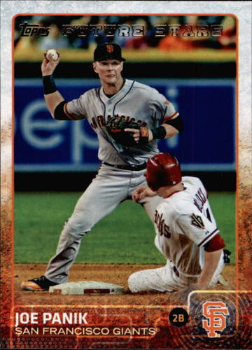 Photo of 2015 Topps #503 Joe Panik FS