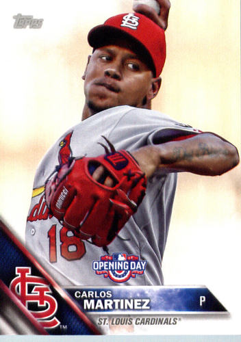 Photo of 2016 Topps Opening Day #OD131 Carlos Martinez