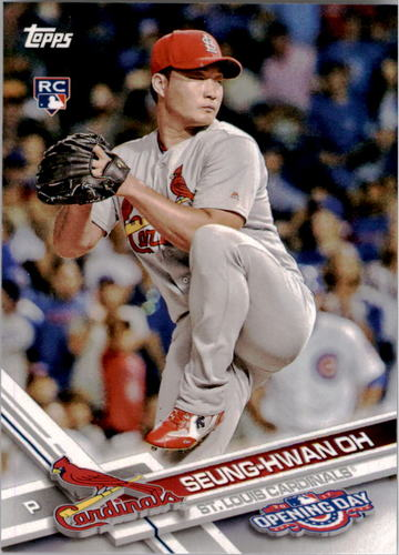 Photo of 2017 Topps Opening Day #182 Seung-Hwan Oh RC