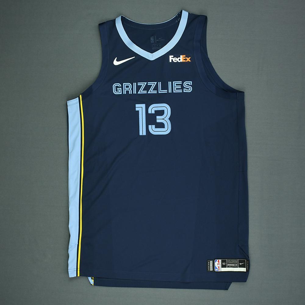 b60e4528a2cc Jaren Jackson Jr. - Memphis Grizzlies - 2018 NBA Draft - Autographed Jersey