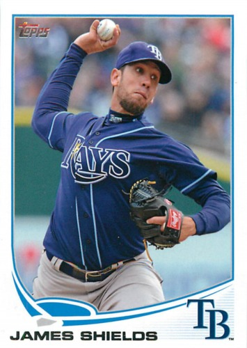 Photo of 2013 Topps #133 James Shields