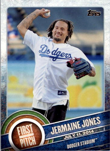 Photo of 2015 Topps First Pitch #FP08 Jermaine Jones