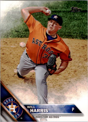 Photo of 2016 Topps #331 Will Harris