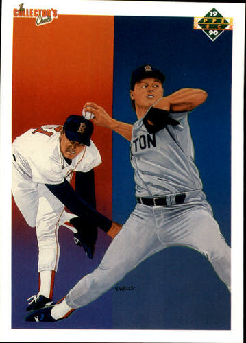 Photo of 1990 Upper Deck #57 Roger Clemens TC