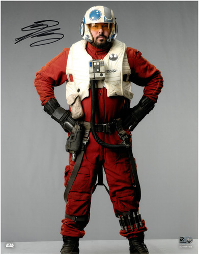 Greg Grunberg As Snap Wexley 11X14 AUTOGRAPHED IN 'Black' INK PHOTO