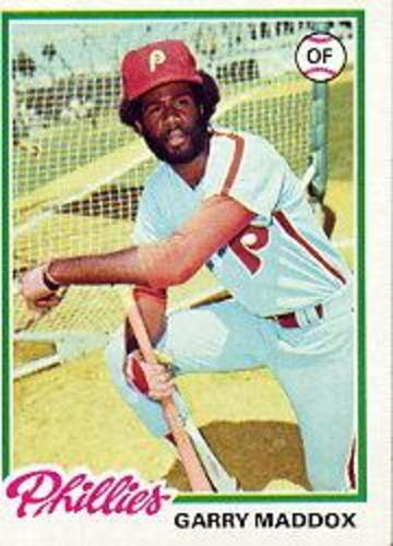 Photo of 1978 Topps #610 Garry Maddox