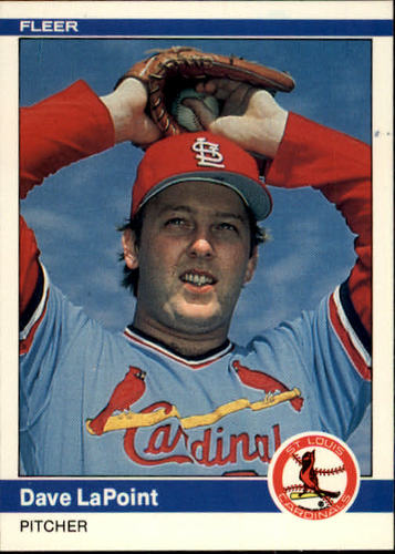 Photo of 1984 Fleer #328 Dave LaPoint
