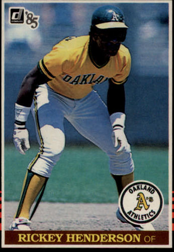 Photo of 1985 Donruss #176 Rickey Henderson