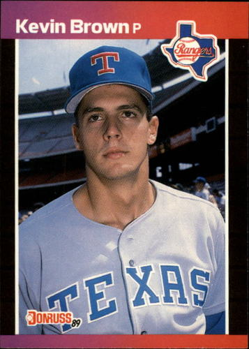 Photo of 1989 Donruss #613 Kevin Brown DP