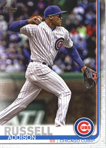 Photo of 2019 Topps #633 Addison Russell
