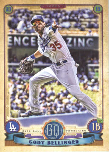 Photo of 2019 Topps Gypsy Queen #18 Cody Bellinger