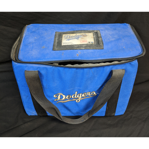 Photo of Team Issued Los Angeles Dodgers Ball Bag From 2020 Season
