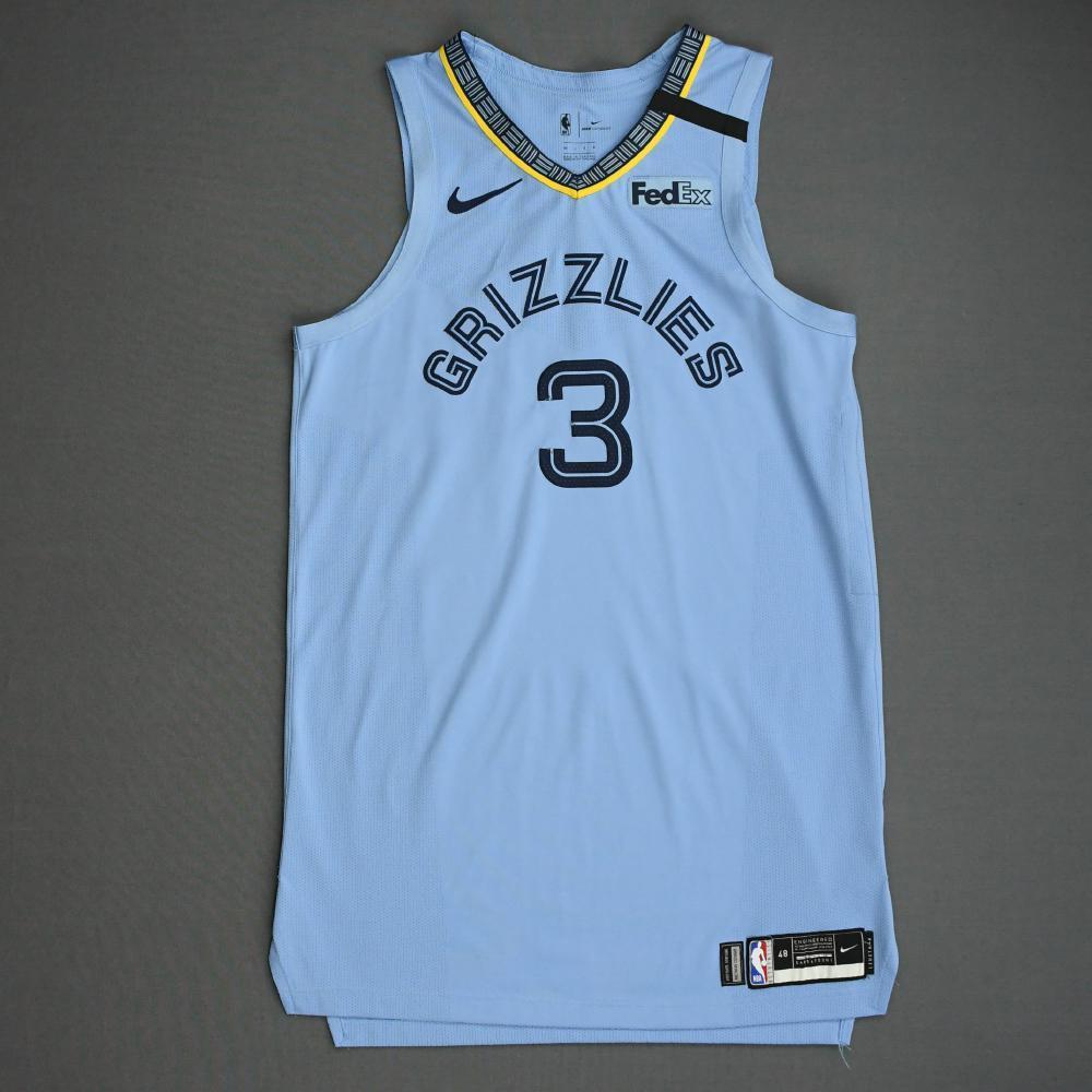 Grayson Allen - Memphis Grizzlies - Game-Worn Statement Edition ...
