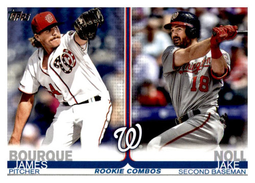 Photo of 2019 Topps Update #US210 Jake Noll RC/James Bourque RC