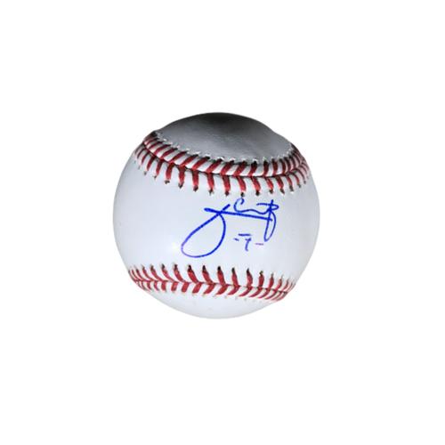 Julio Urias Authentic Autographed Baseball