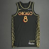 Zach LaVine - Chicago Bulls - City Edition Jersey - Scored Team-High 33 Points - 2020-21 NBA Season