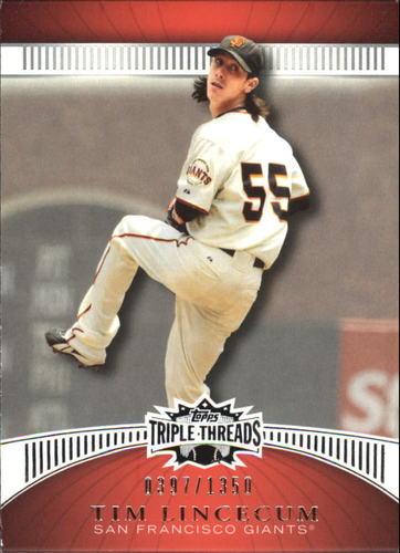 Photo of 2010 Topps Triple Threads #89 Tim Lincecum