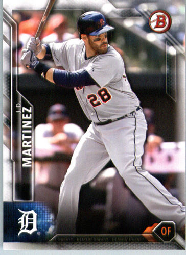 Photo of 2016 Bowman #105 J.D. Martinez