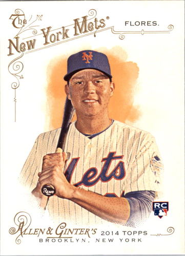 Photo of 2014 Topps Allen and Ginter #47 Wilmer Flores RC