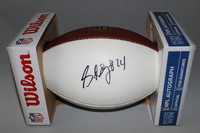 NFL - PATRIOTS STEPHON GILMORE SIGNED PANEL BALL
