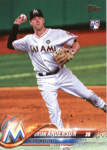 Photo of 2018 Topps #234 Brian Anderson RC