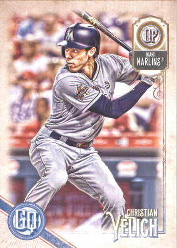 Photo of 2018 Topps Gypsy Queen #68 Christian Yelich