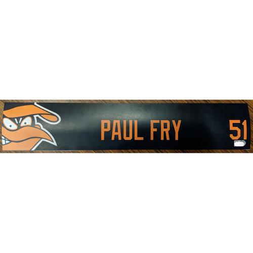Photo of Paul Fry #51 - Locker Tag: Team-Issued