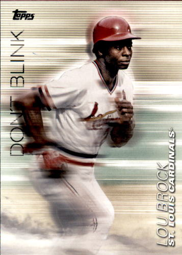Photo of 2018 Topps Update Don't Blink #DB4 Lou Brock