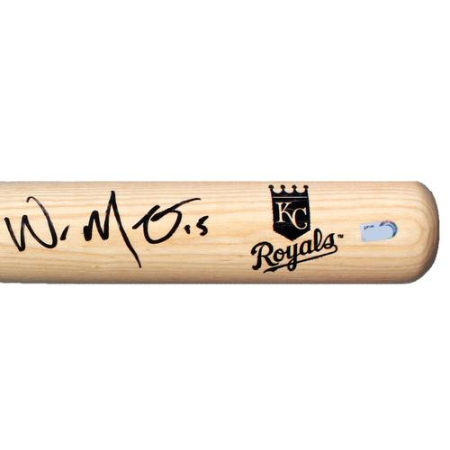 Photo of Autographed Bat: Whit Merrifield