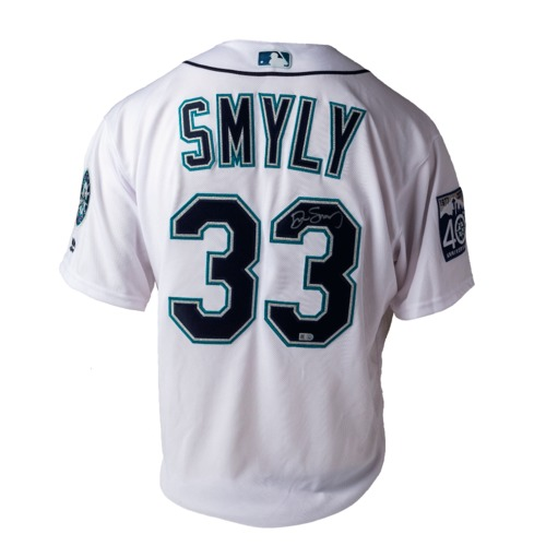 Photo of Mariners Care Charity Auction: Drew Smyly Autographed Jersey