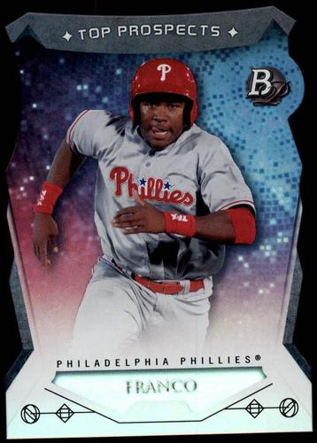 Photo of 2014 Bowman Platinum Top Prospects Die Cuts #TPMF Maikel Franco