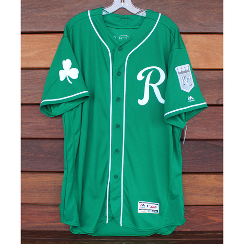 Photo of Team-Issued St. Patrick's Day Jersey: Vance Wilson (Size - 50)