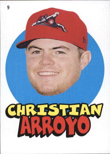 Photo of 2016 Topps Heritage Minors '67 Topps Stickers #9 Christian Arroyo