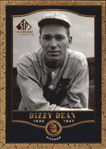 Photo of 2001 SP Legendary Cuts #12 Dizzy Dean
